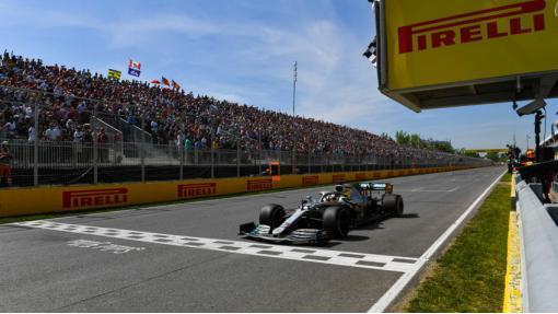 Lewis gana el Gran Premio de Canadá